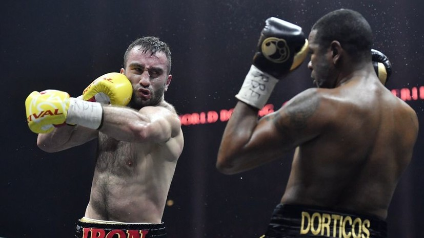 На пути к титулу: Гассиев нокаутировал Дортикоса в полуфинале Всемирной боксёрской суперсерии