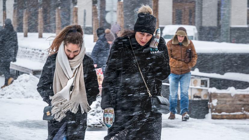 МЧС Москвы предупредило о ветре до 20 м/с в ближайшие часы