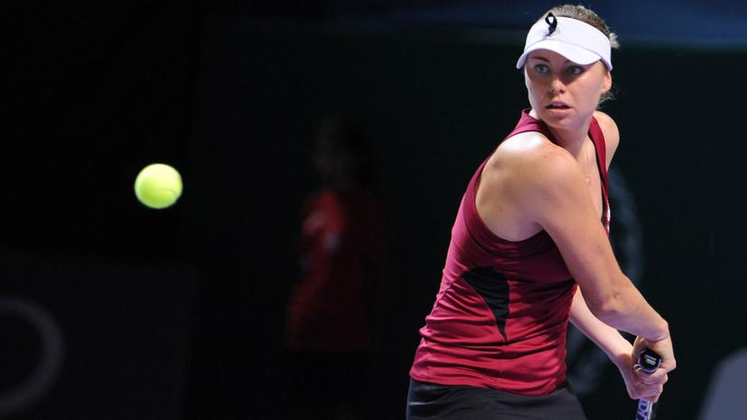 Звонарёва рассказала, как изменился теннис за время её отсутствия в туре