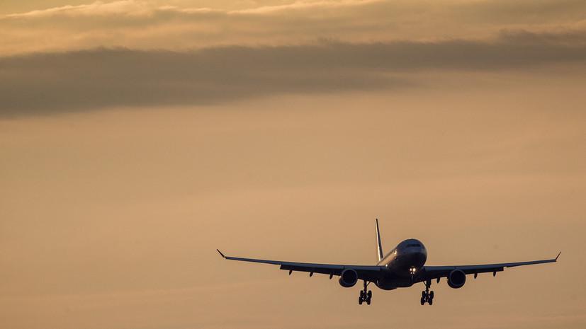 Самолёт вернулся во Внуково из-за сработавшего датчика пожарной сигнализации