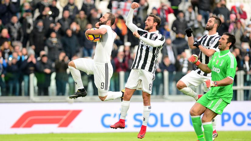«Ювентус» разгромил «Сассуоло» в матче итальянской Серии А и временно поднялся на первое место