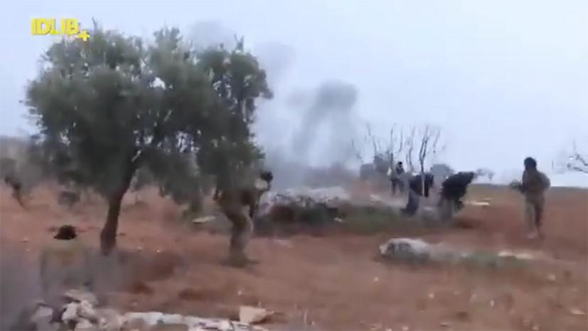 В сети опубликовано видео возможного сражения пилота сбитого в Сирии Су-25 с боевиками