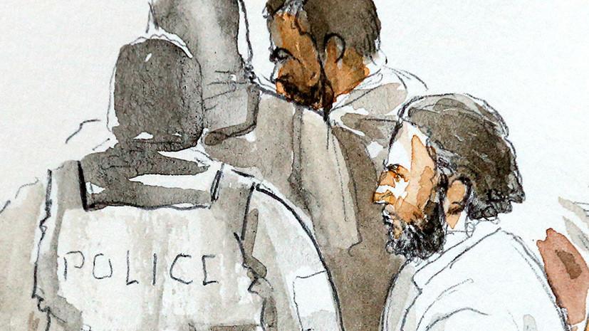 В Брюсселе начался суд над главным обвиняемым по делу о терактах в Париже Абдесламом
