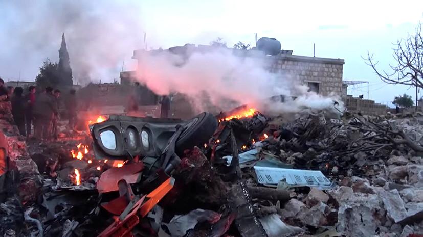 В Минобороны рассказали о деталях боя между сбитым в Сирии пилотом Су-25 и террористами