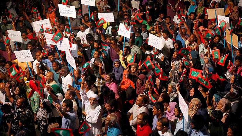 НаМальдивах ввели чрезвычайное положение