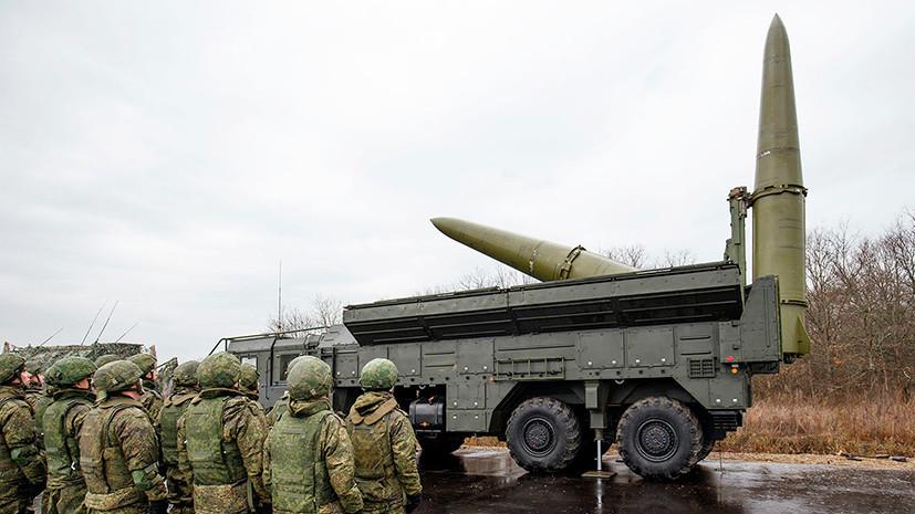 Песков назвал размещение «Искандеров» под Калининградом суверенным правом России