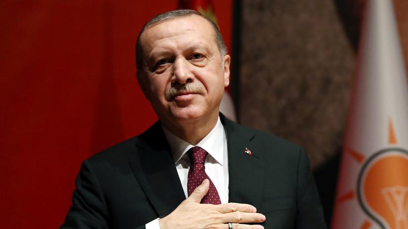 Присутствие США вСирии направлено против Турции, Российской Федерации иИрана— Эрдоган