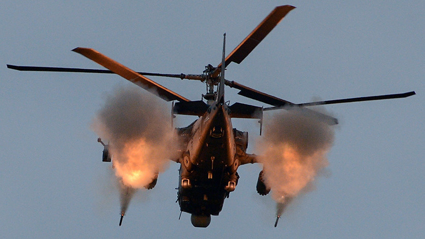 Минобороны закупит 114 военных вертолетов Ка-52 «Аллигатор»