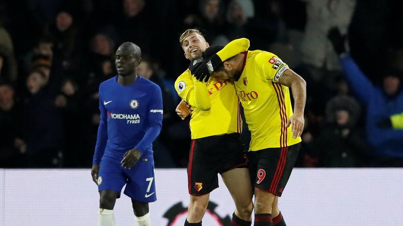 Футболист «Уотфорда» может получить четырёхматчевую дисквалификацию за неприличный жест