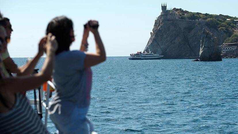 Учёные подсчитали скорость движения Крымского полуострова в сторону материковой России