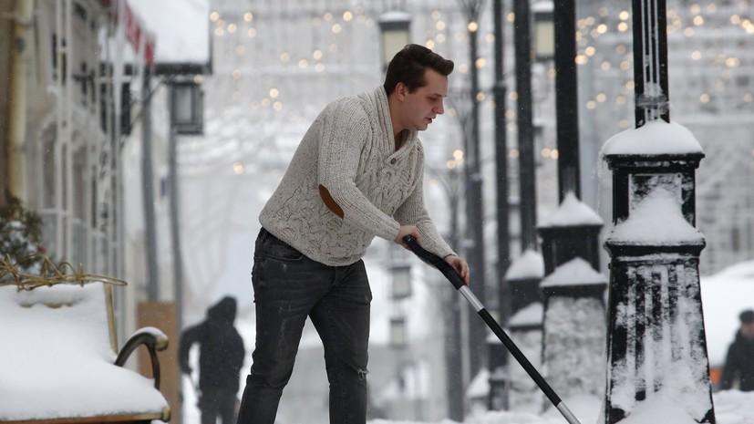 Власти Москвы рассказали, какие климатические аномалии могут ждать столицу