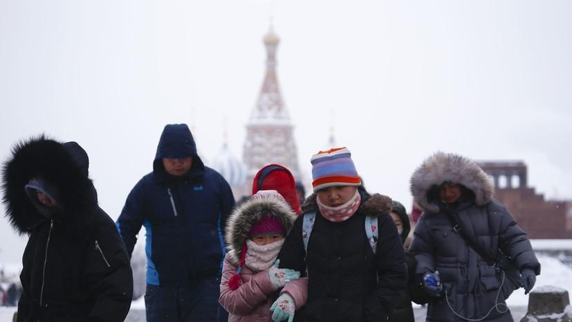 В Ростуризме сообщили о росте турпотока из Китая в Россию