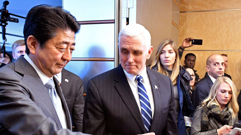Майк Пенс объявил оподготовке США нового пакета санкций вотношении КНДР
