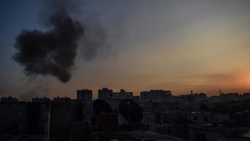 В Минобороны Сирии заявили, что израильская авиация атаковала военный объект под Дамаском