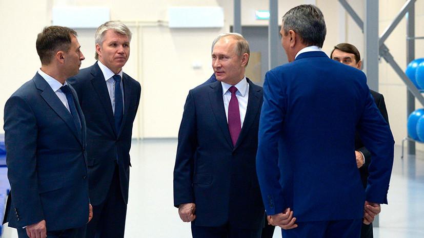 Рассчитываю, что студенты прибавят навыков всвоем мастерстве— Путин обУниверсиаде