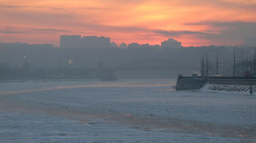 Ночь на 8 февраля стала самой морозной в Москве с начала зимы