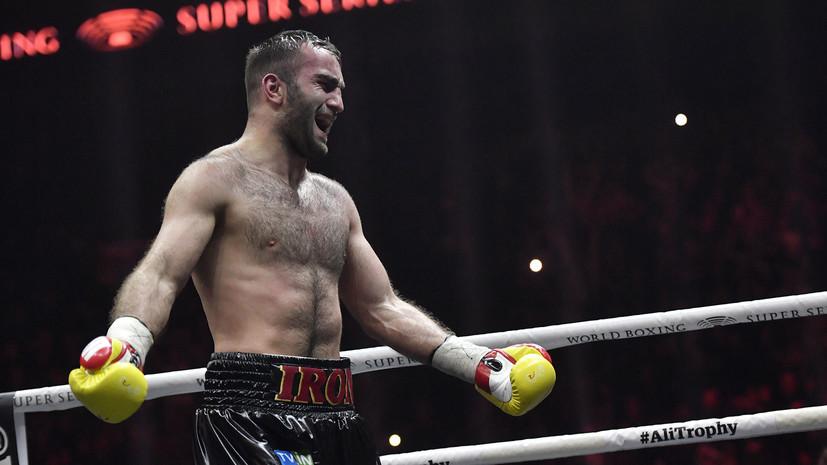 Гассиев может перейти в супертяжёлый вес после финала Всемирной боксёрской суперсерии