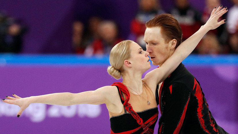 Фигуристы Тарасова и Морозов показали лучший результат в короткой программе на командных соревнованиях ОИ
