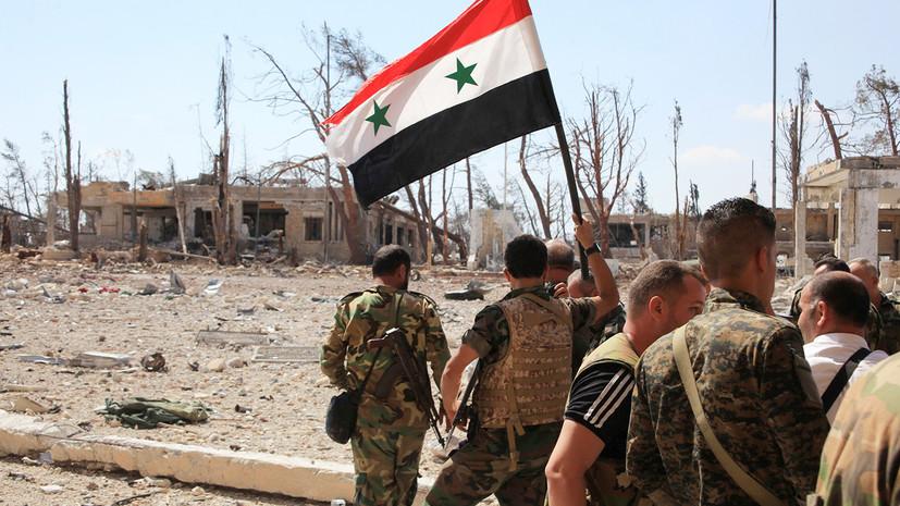 сирийская армия полностью освободила от ИГ провинции Хама и Алеппо