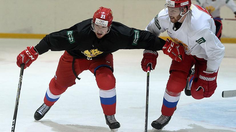 Сборная России по хоккею разгромила Южную Корею в выставочном матче