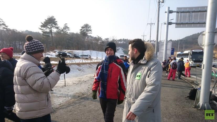 Развернувший флаг России на церемонии открытия ОИ-2018 американец дал эксклюзивное интервью RT