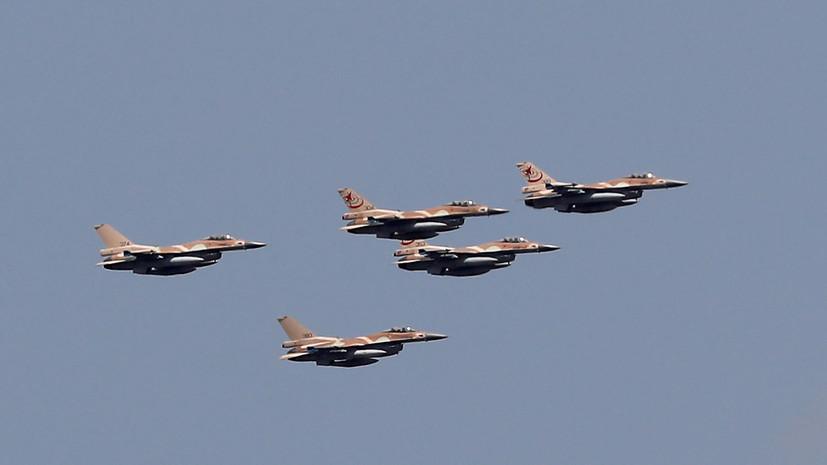 Израиль объяснил авиаудары по территории Сирии