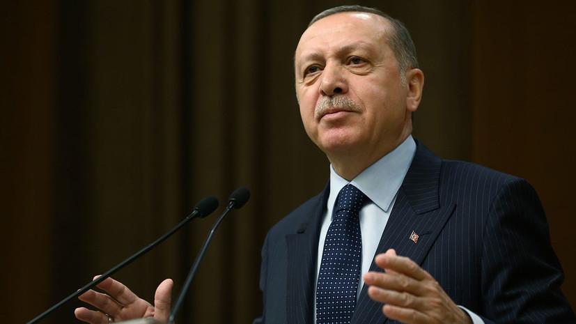 Эрдоган сообщил о сбитом в ходе операции в Африне турецком вертолёте