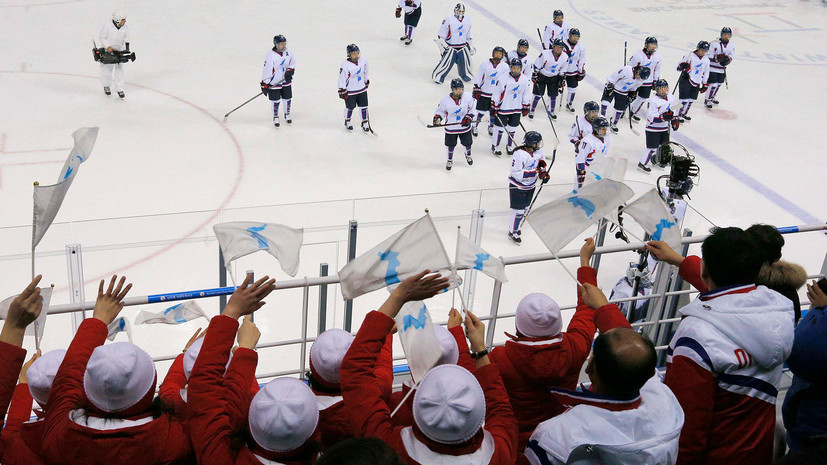 В КНДР не сообщили о разгромном поражении объединённой женской команды Кореи по хоккею на ОИ-2018