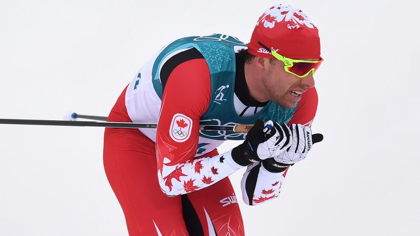 Канадский лыжник объявил, что Спицов «убил» его нафинише