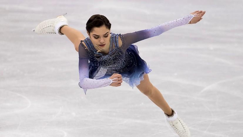 Феноменальный дебют: мировой рекорд Медведевой помог России закрепиться на втором месте в командном турнире
