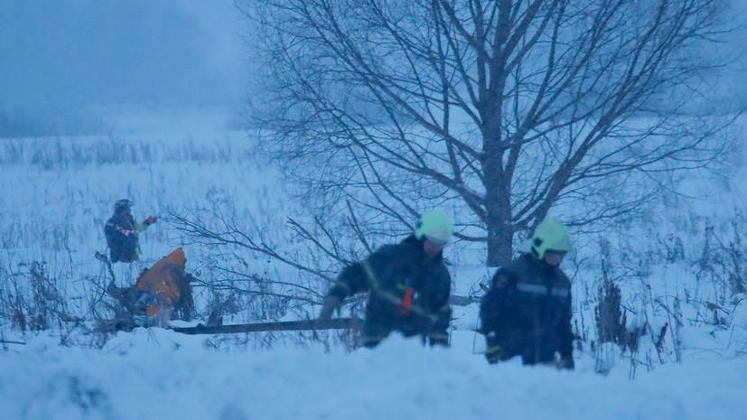 Более 60 пассажиров разбившегося самолёта Ан-148 были жителями Оренбургской области