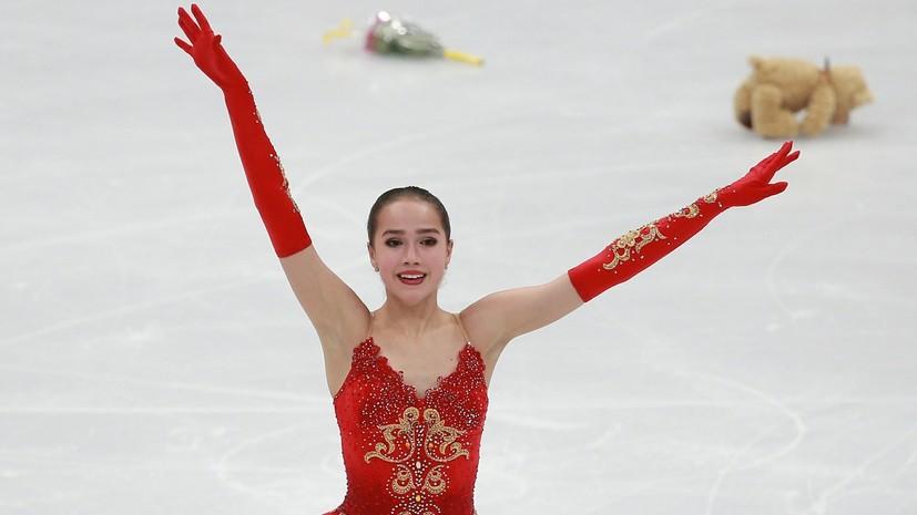 Общий зачёт: российские фигуристы завоевали серебро в командном турнире Олимпиады в Пхёнчхане