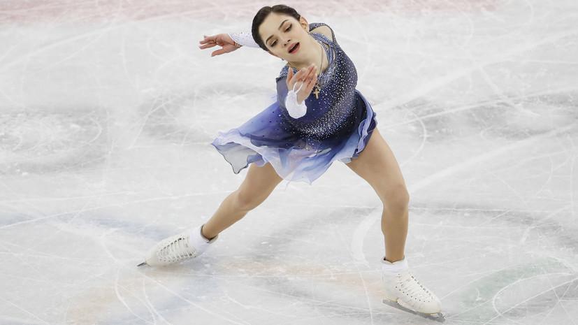 Фигуристка Медведева поделилась эмоциями от завоевания серебряных медалей по итогам командного турнира на ОИ-2018