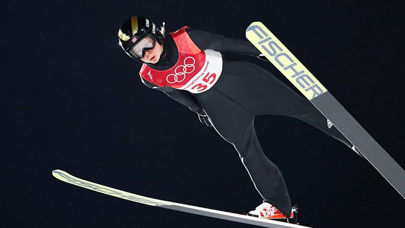 Норвежка Лундбю стала олимпийской чемпионкой по прыжкам со среднего трамплина, Аввакумова — четвёртая