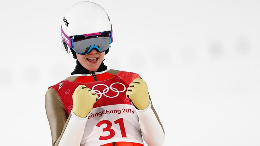 На зависть биатлонистам: россиянка Аввакумова стала четвёртой в прыжках с трамплина на Олимпиаде