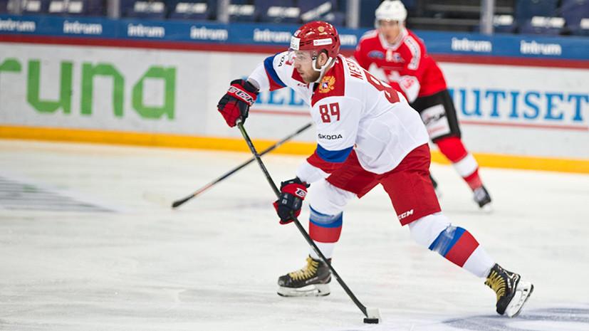 Хоккеист Нестеров: пусть играем под олимпийским флагом, Россия — в наших сердцах