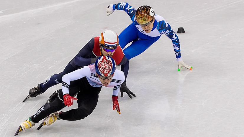 Шорт-трекист Елистратов преодолел квалификацию на дистанции 1000 м