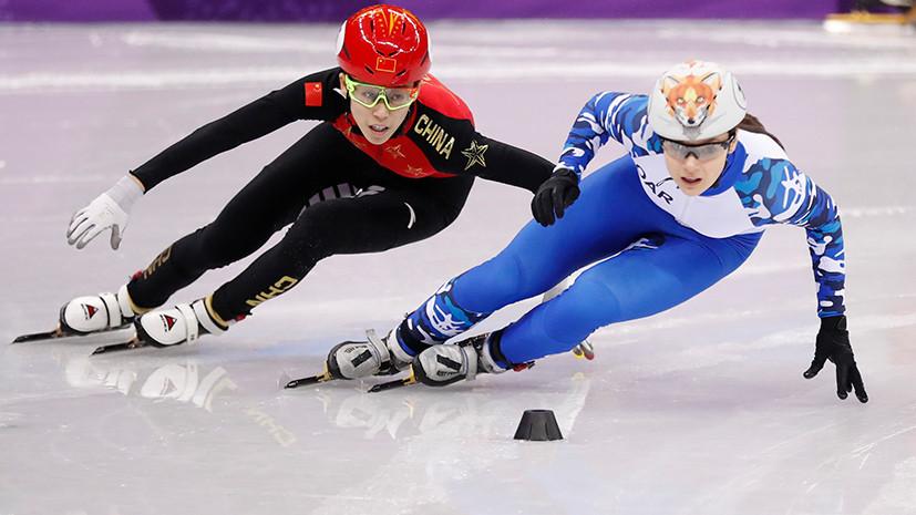 Шорт-трекистка Просвирнова не смогла выйти в финал на дистанции 500 м