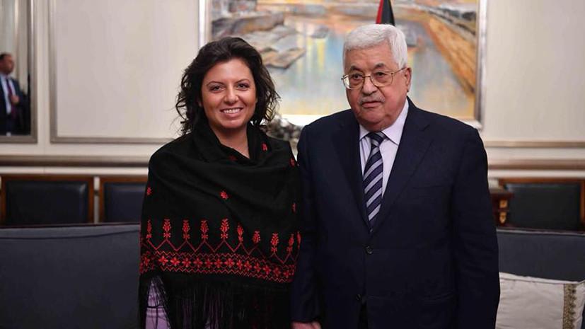 RT и Гостелерадио Палестины подписали меморандум о сотрудничестве