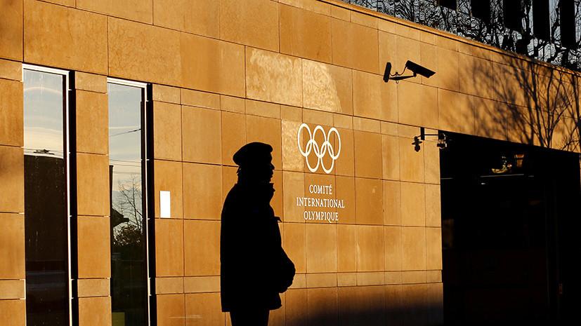В МОК прокомментировали ситуацию со спортсменами Грязцовым и Поповым