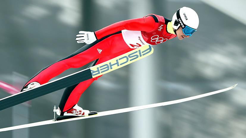 Россиянин Яхин занимает 21-е место после прыжков с трамплина в лыжном двоеборье на ОИ-2018