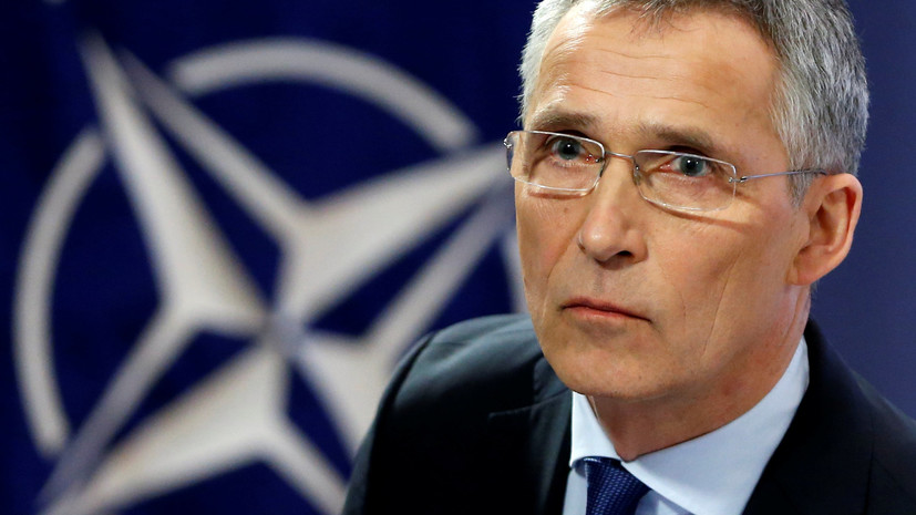 Столтенберг: вопрос вступления Украины в НАТО рассмотрят после проведения Киевом оборонной реформы