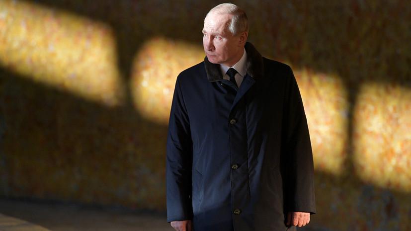 В Кремле сообщили, что Путин из-за простуды старается не появляться в публичных местах