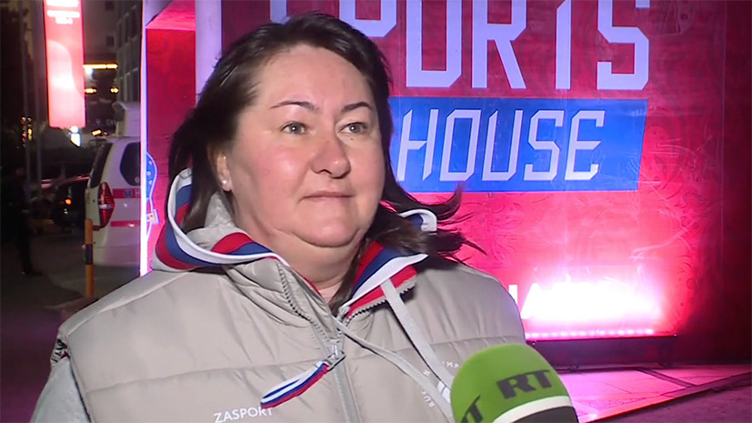 Вяльбе заплакала после завоевания российскими лыжниками серебра наОИ
