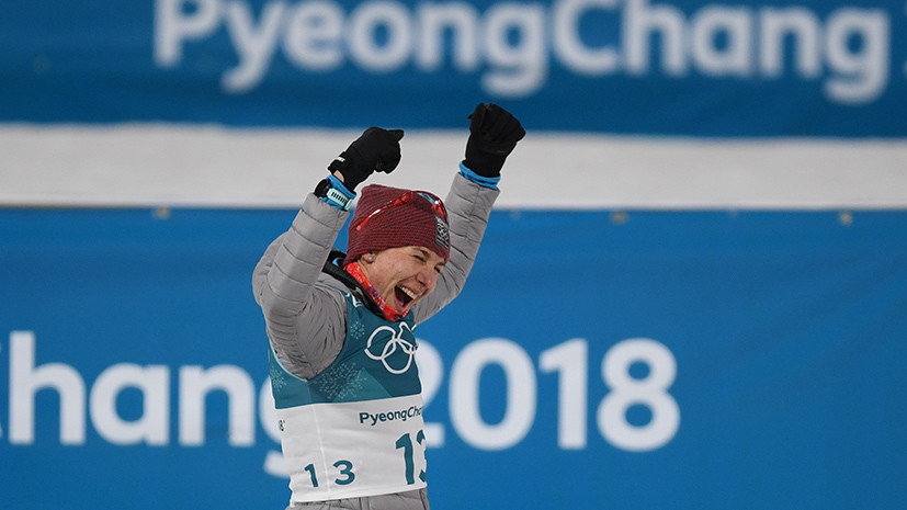 «Эта медаль — для Антона»: биатлонистка Кузьмина посвятила Шипулину серебро индивидуальной гонки в Пхёнчхане