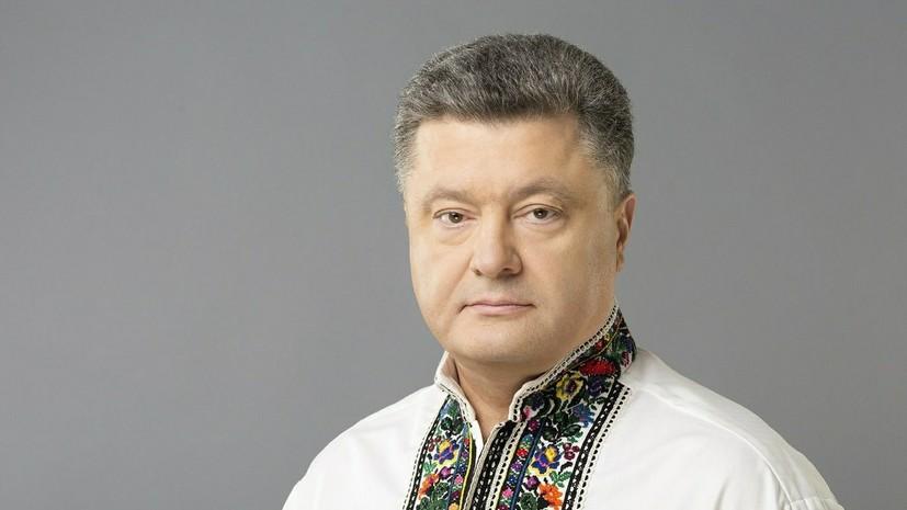 Порошенко назвал две основные темы разговора с Путиным