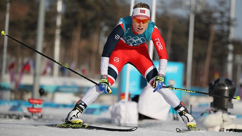 Чемпионка ОИ-2018 норвежка Хага принимает лекарства от астмы