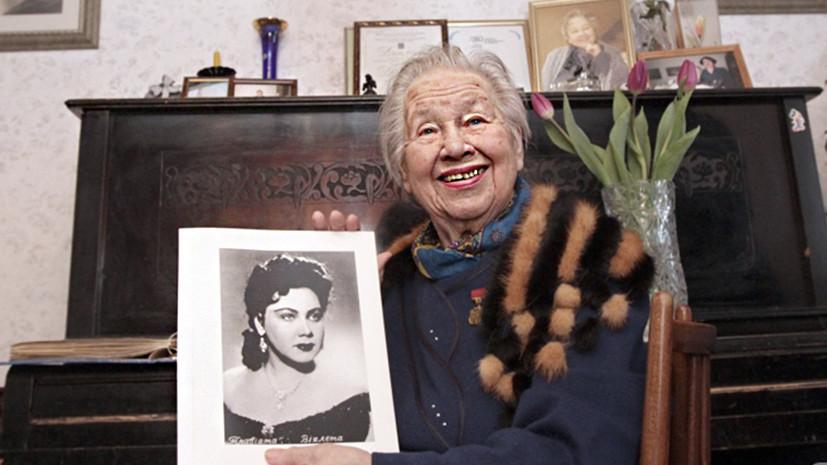 В Минске умерла народная артистка СССР Тамара Нижникова