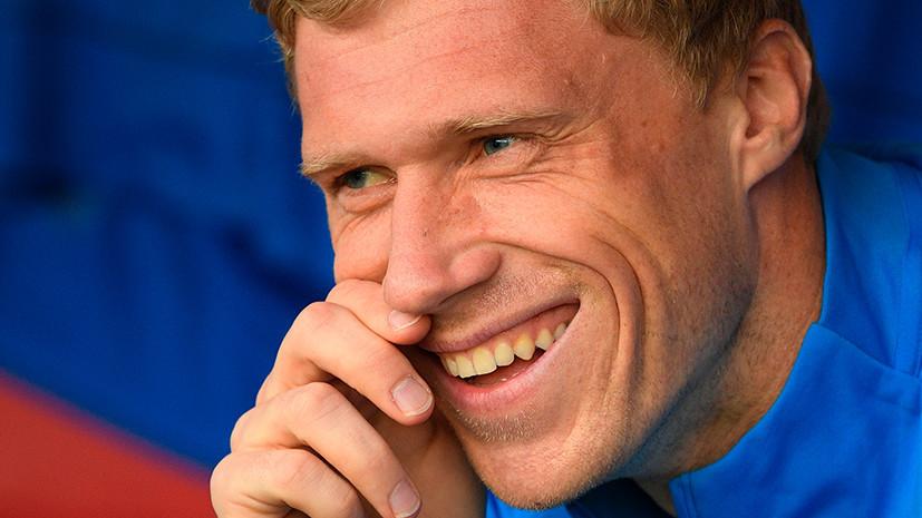 СМИ: «Тосно» подпишет контракт с экс-игроком сборной России по футболу Погребняком
