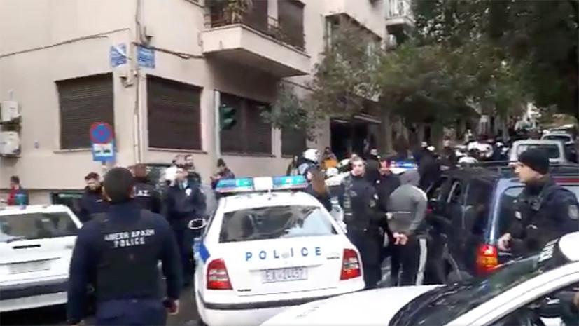 СМИ: Украинские болельщики напали на группу россиян в Афинах